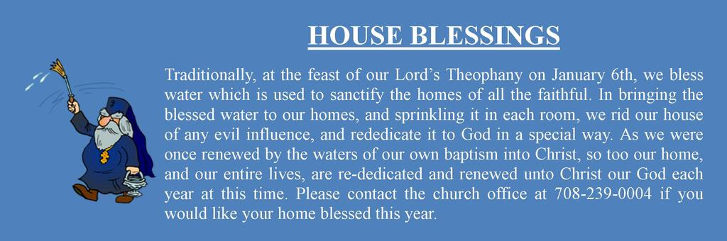 st mary orthodox church house blessing